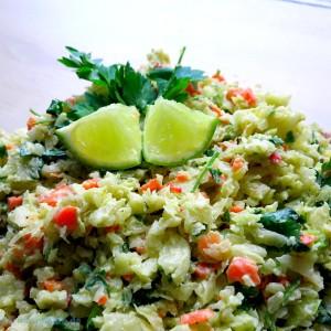 Krautsalat Avocado Koriander