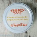 Kinderschokolade Cappuccino Pulver